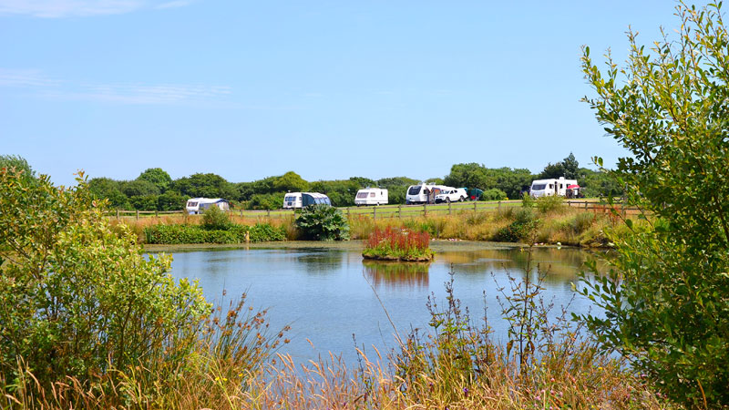 Vose Farm Touring Caravan Pitches Cornwall