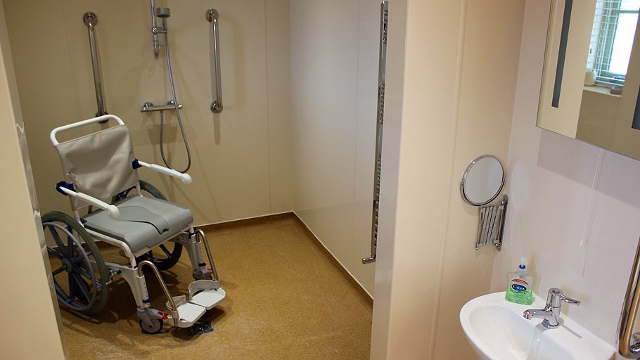 Disabled Bathroom Example